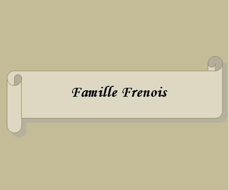 Famille Frenois