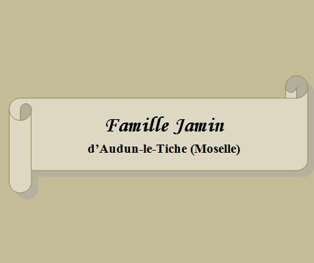 Famille Jamin