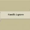 Famille lapierre