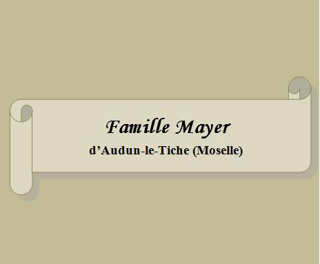 Famille Mayer