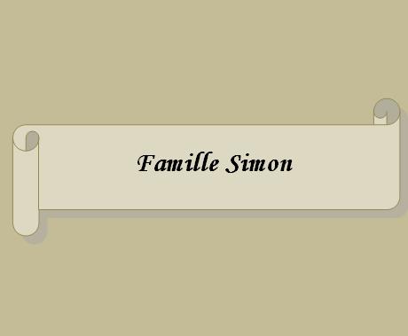 Famille Simon
