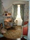 Fayet (Aveyron) Château de Fayet, chambre bleue
