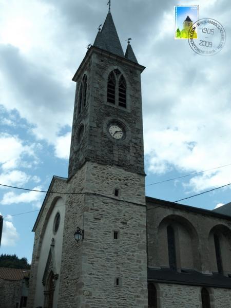 Fayet (Aveyron)  Laroque, l'église