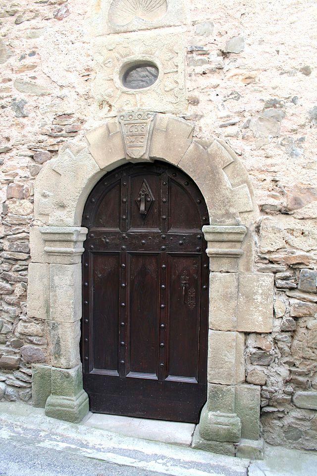 Fayet (Aveyron) Porte de 1638