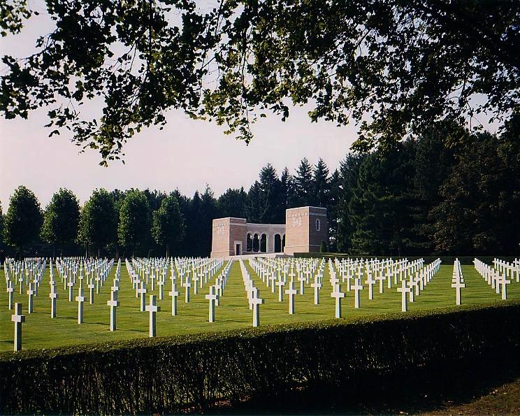 Fère-en-Tardenois (Aisne) le cimetière américain