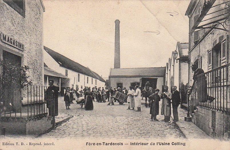 Fère-en-Tardenois (Aisne) CPA l'usine