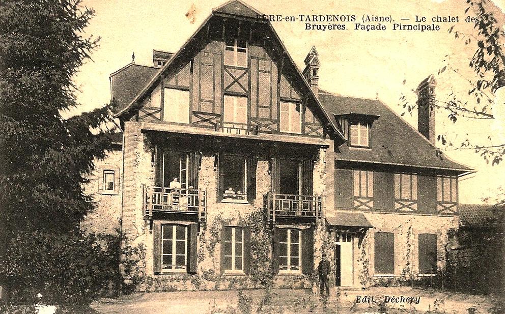 Fère-en-Tardenois (Aisne) CPA le chalet des bruyères