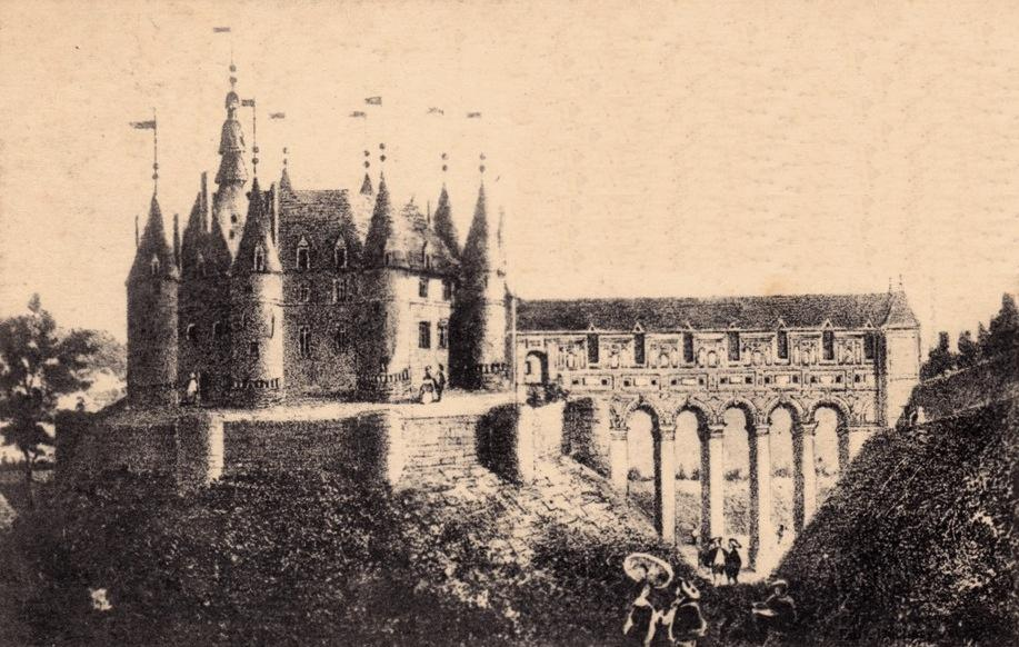 Fère-en-Tardenois (Aisne) CPA le château (reconstitué)