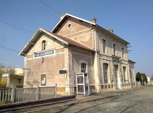 Fère-en-Tardenois (Aisne) la gare