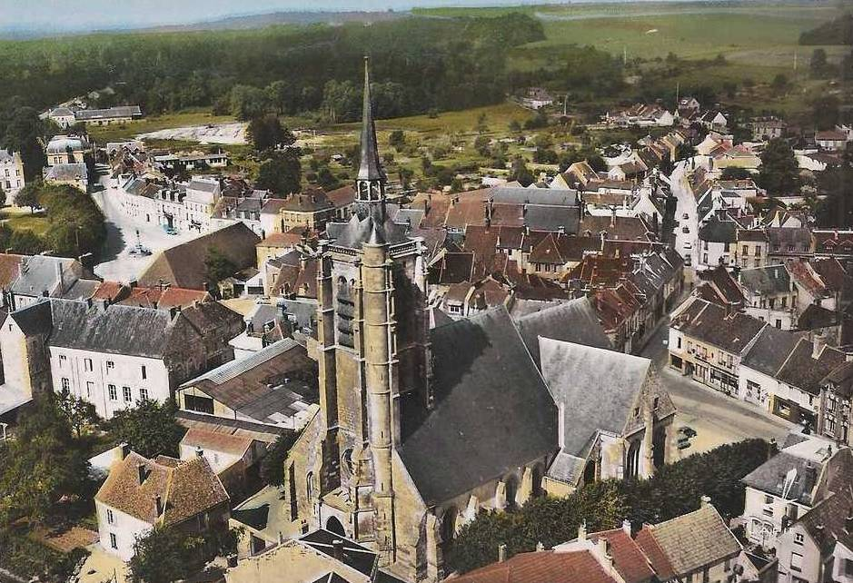 Fère-en-Tardenois (Aisne) vue aérienne