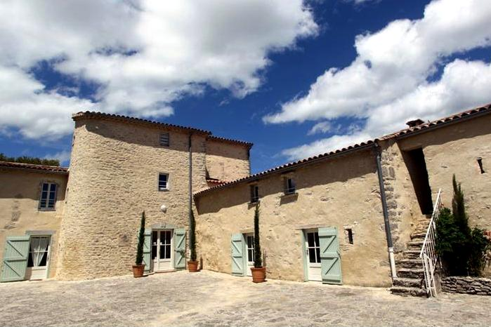 Ferrières-les-Verreries (Hérault) Le Mas de Baume