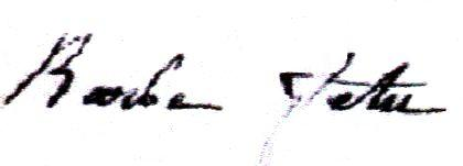 Barbe Fetu (1783/1854) épouse François Ponsin