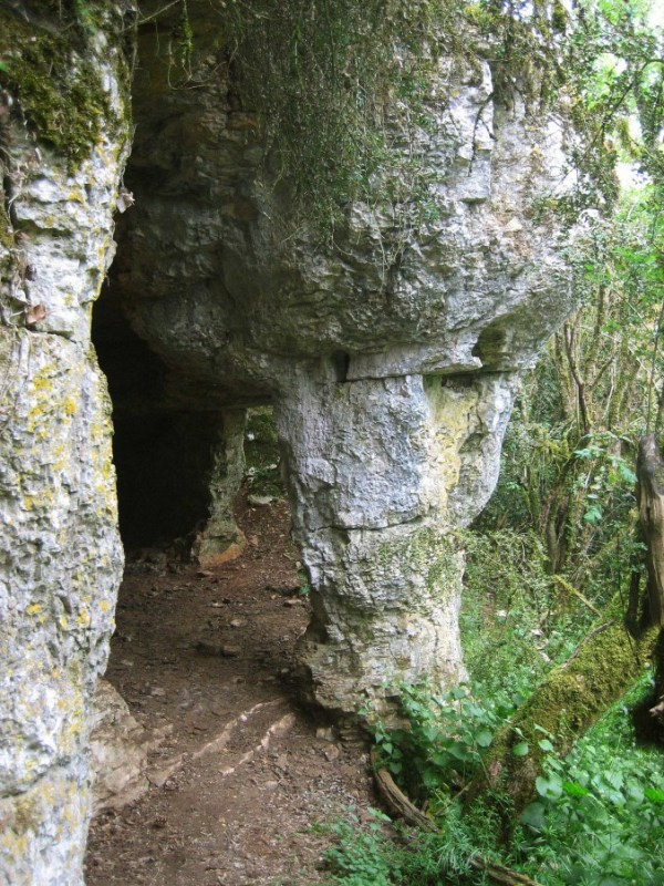 Fleurey-sur-Ouche (Côte d'Or) La grotte de Morcueil