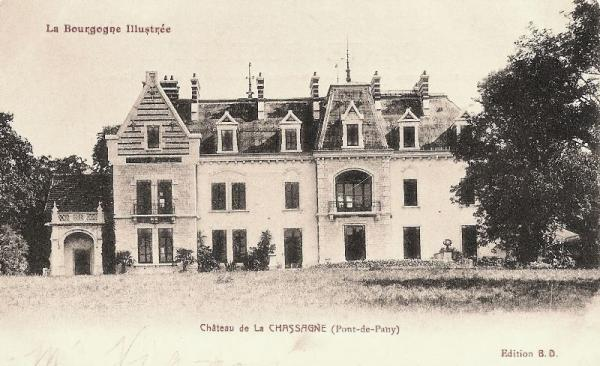Fleurey-sur-Ouche (Côte d'Or) Le château La Chassagne CPA