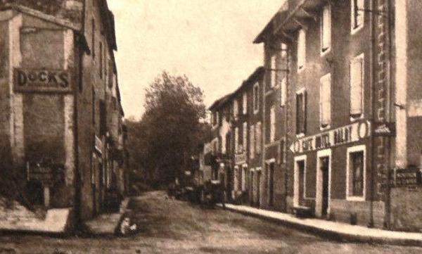 Fondamente (Aveyron) CPA Hôtel Baldy