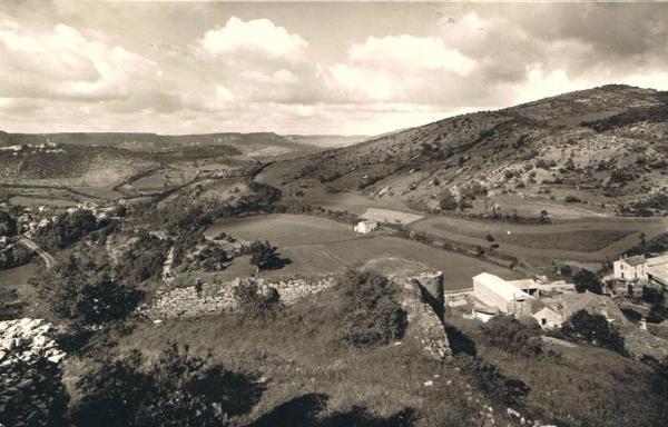 Fondamente (Aveyron) CPA  Montpaon, vue aérienne