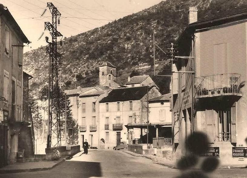 Fondamente (Aveyron) CPA rue principale