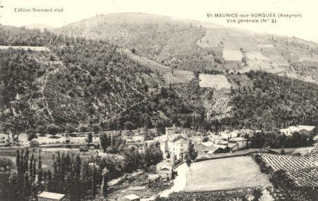 Fondamente (Aveyron) CPA Saint-Maurice-de-Sorgues