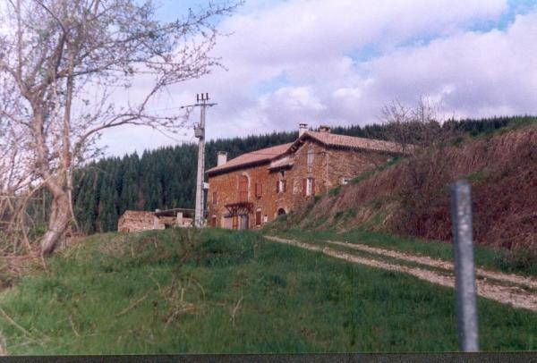 Fondamente (Aveyron) Le Mas Calvy en 1998