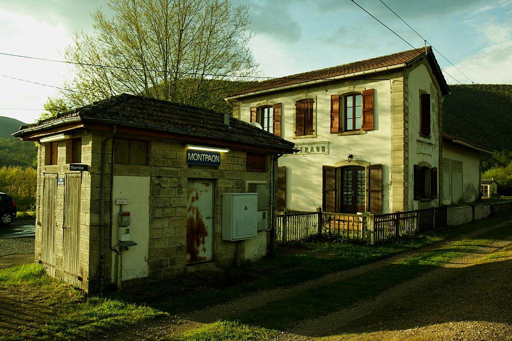 Fondamente (Aveyron) Montpaon gare