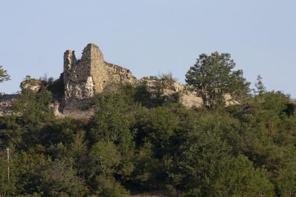 Fondamente (Aveyron) Montpaon, ruines du château-fort