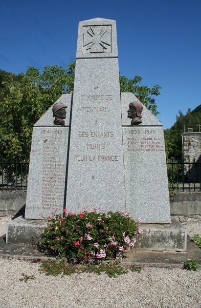 Fondamente (Aveyron) Monument aux morts