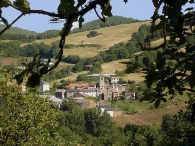 Fondamente (Aveyron) Saint-Maurice-de-Sorgues, vue générale