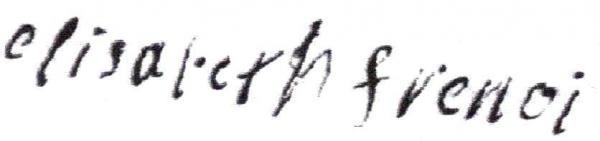 Elisabeth Frenois (sosa 169G8) épouse de Jean Ponsin