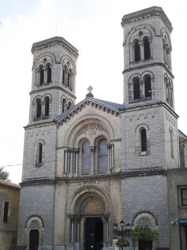 Ganges (Hérault) L'église Saint Pierre
