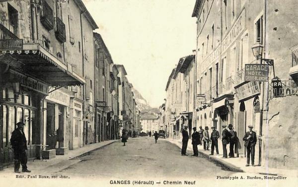 Ganges (Hérault) L'hôtel de la Croix blanche CPA