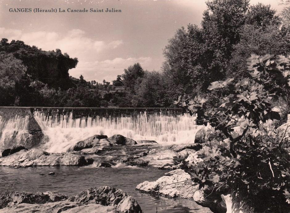 Ganges (Hérault) La cascade Saint Julien CPA