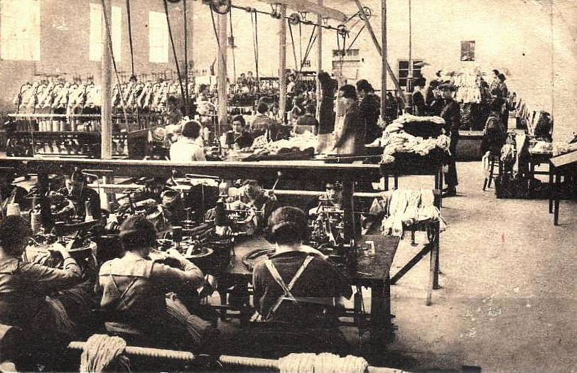Ganges (Hérault) La manufacture CPA