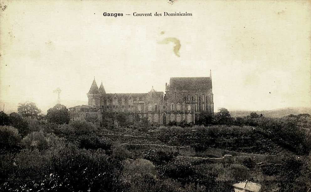 Ganges (Hérault) Le couvent CPA