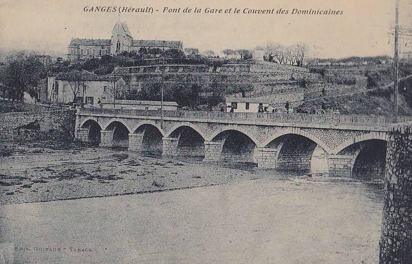 Ganges (Hérault) Le pont neuf CPA