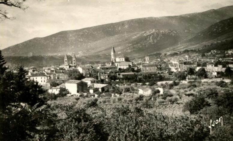 Ganges (Hérault) Vue générale CPA