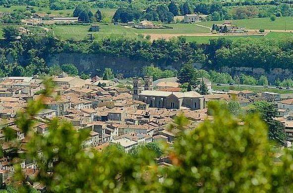 Ganges (Hérault) Vue générale