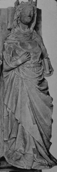 Gisant de Constance d'Arles à Saint-Denis