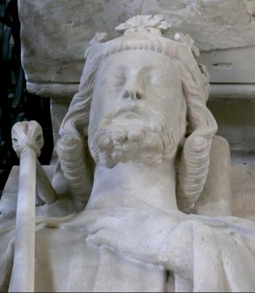Gisant de Louis VI à la basilique Saint-Denis