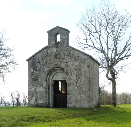 Gissac (Aveyron) Chapelle Saint Jacques