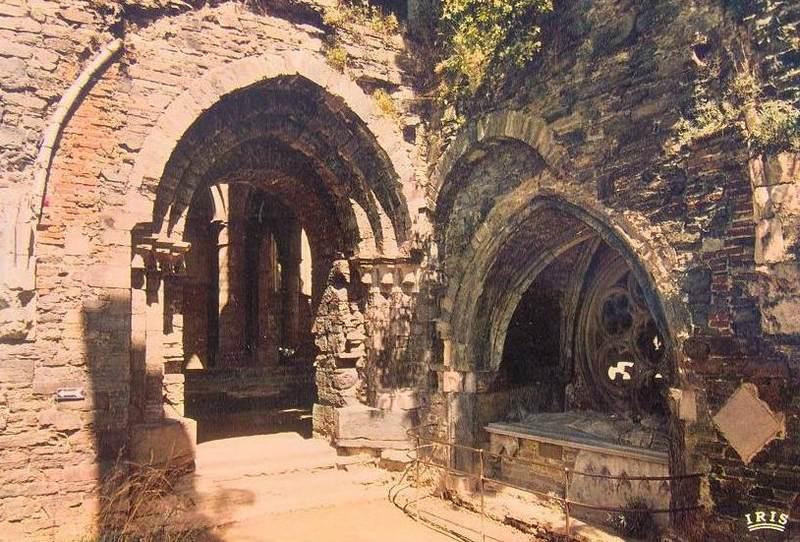 Gobert VI d'Apremont, tombeau abbaye