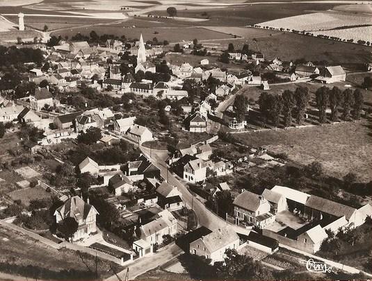 Gouy (Aisne) CPA vue générale