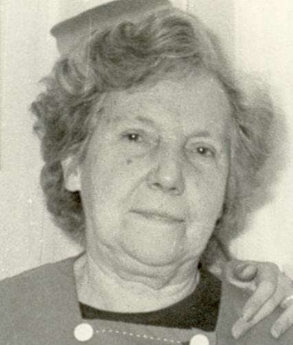Madeleine Lemonnier-Gransard en 1968