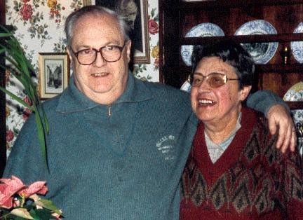 Pierre et Oulita Gransard en 1995