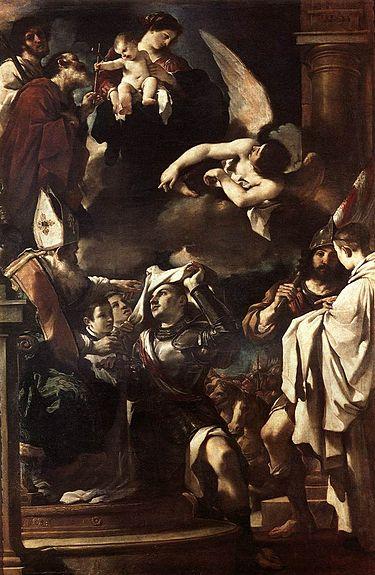 Guillaume de Gellone, par Guercino au XVIIème siècle