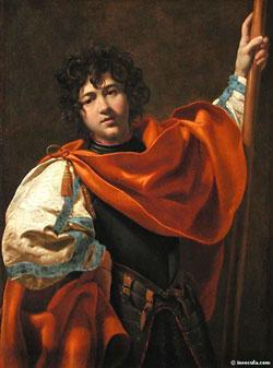 Guillaume de Gellone, par Simon Vouet XVIIème siècle