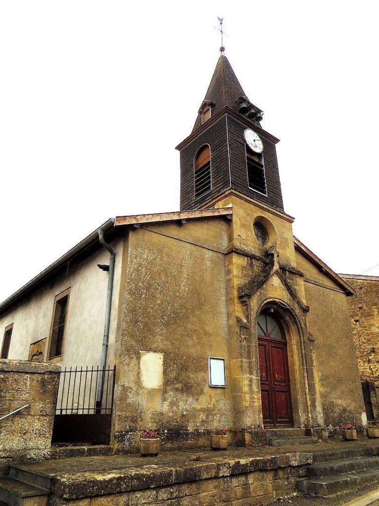Han-lès-Juvigny (Meuse) L'église Saint-Jean-L'Évangéliste