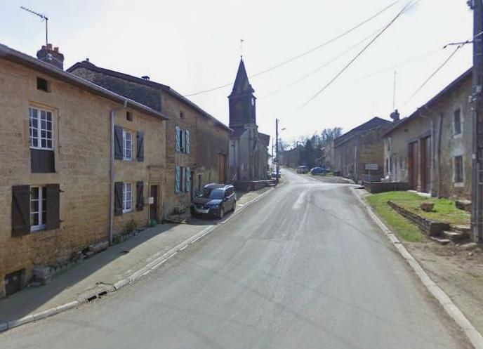 Han-lès-Juvigny (Meuse) La rue du Haut du Retour
