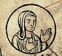 Hedwige de Saxe, épouse d'Hugues dit le Grand