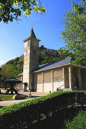 Hermillon (Savoie) L'église Saint Martin