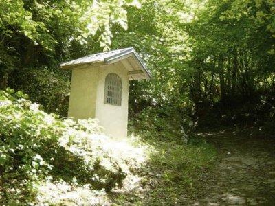 Hermillon (Savoie) L'oratoire de la Vierge